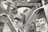For the first time in Naples. Escher on show