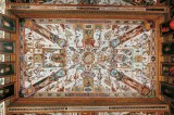 All the monsters in the ceilings of the Uffizi
