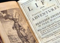Robinson Crusoe is now three hundred years old: the founder of the modern novel