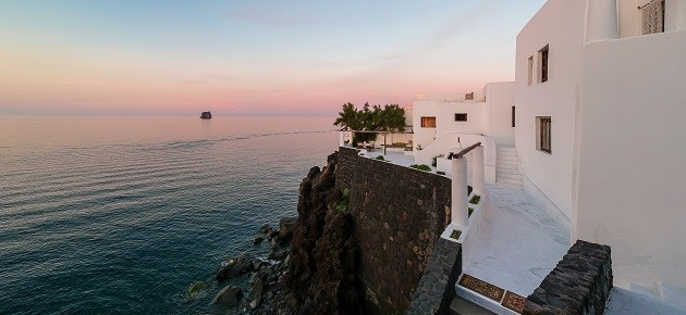 For sale, Dolce and Gabbana's stunning villa on the island of Stromboli