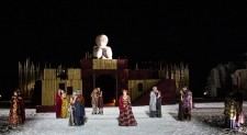 Lysistrata on stage in Cyprus