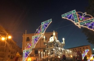 Palermo. The 395th Feast of Santa Rosalia has ended