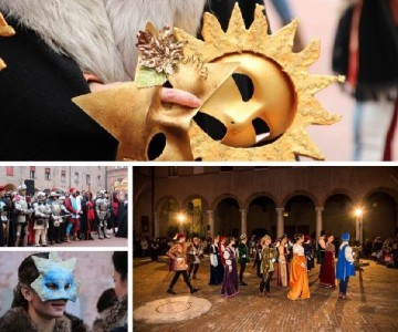 Ferrara returns to the splendours of the Renaissance for the Este Carnival